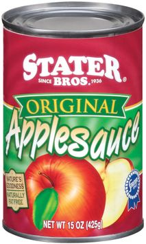 Stater bros Original Applesauce