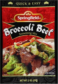 Springfield® Broccoli Beef Seasoning Mix