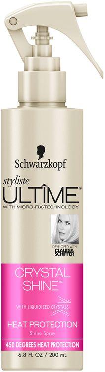 Schwarzkopf Styliste Ultime® Crystal Shine™ Heat Protection Shine Spray