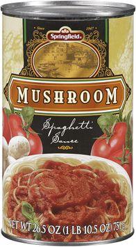 Springfield® Mushroom Spaghetti Sauce