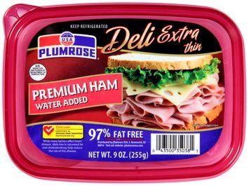 Plumrose® Deli Extra Thin Premium Ham