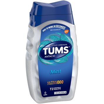 Tums® Ultra Strength 1000 Mint Antacids Chewable Tablets 72 ct Bottle