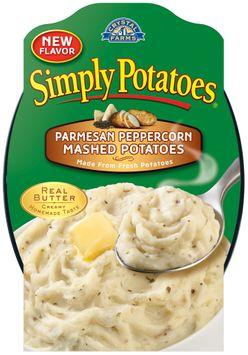 Crystal Farms® Simply Potatoes® Parmesan Peppercorn Mashed Potatoes