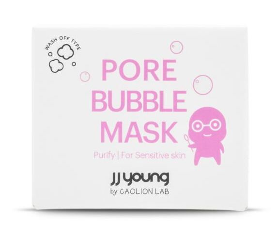 Jj Young By CAOLIN LAB Pore Bubble Mask