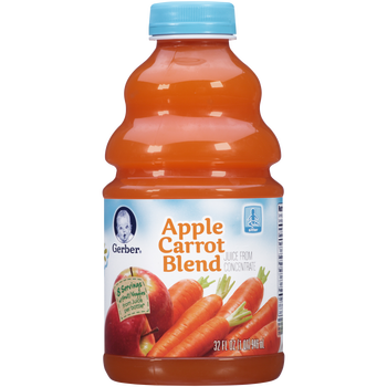 Gerber Juice From Concentrate - Apple Carrot Blend