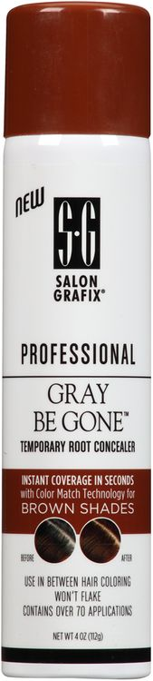 Salon Grafix® Professional Grey Be Gone™ Brown Shades