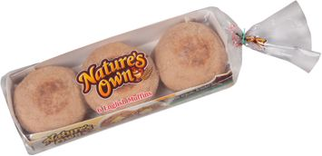 Nature's Own® 100% Whole Wheat English Muffins 6 ct Tray