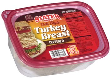 stater bros® deli style peppered turkey breast