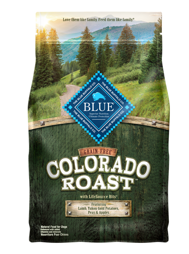 THE BLUE BUFFALO CO. BLUE™ Grain-Free Colorado Roast™ For Adult Dogs