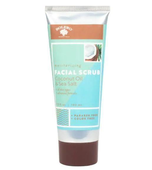 BOLERO™ Beverly Hills Facial Scrub Coconut Oil & Sea Salt