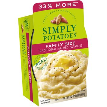 Simply Potatoes® Family Size Traditional Mashed Potatoes