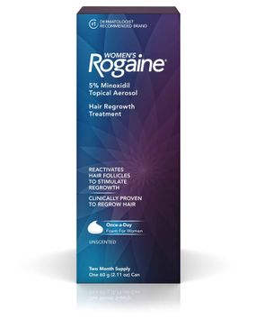 Rogaine® Women's 5% Minoxidil Unscented Foam