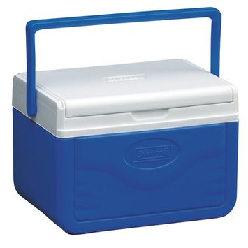 Coleman 5 qt. FlipLid Personal Cooler Blue