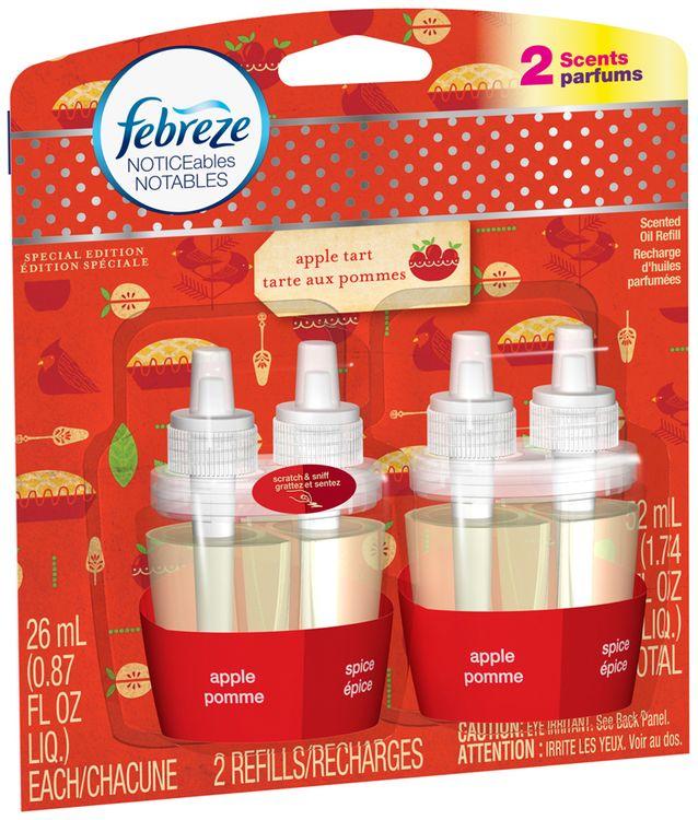 Noticeables Febreze Noticeables Apple Tart Oil Refill Air Freshener (2 Count, )