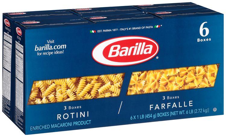 Barilla® Rotini/Farfalle Pasta