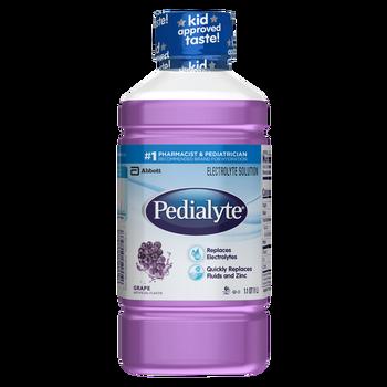 Pedialyte Oral Electrolyte Solution - Grape (33.8 oz)