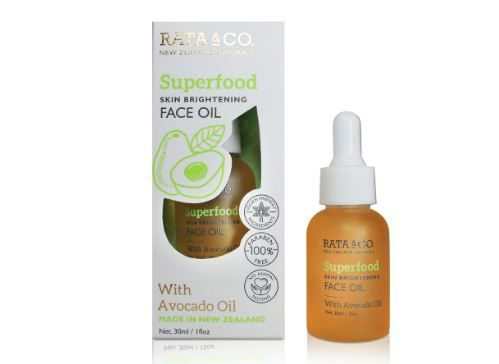RATA & CO. Superfood Skin Brightening Face Oil With Avocado Oil