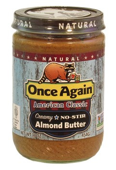 Once Again Roasted Almond Butter Creamy