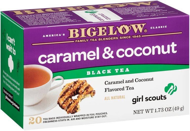 Bigelow® Caramel & Coconut Black Tea Bags 20 ct Box