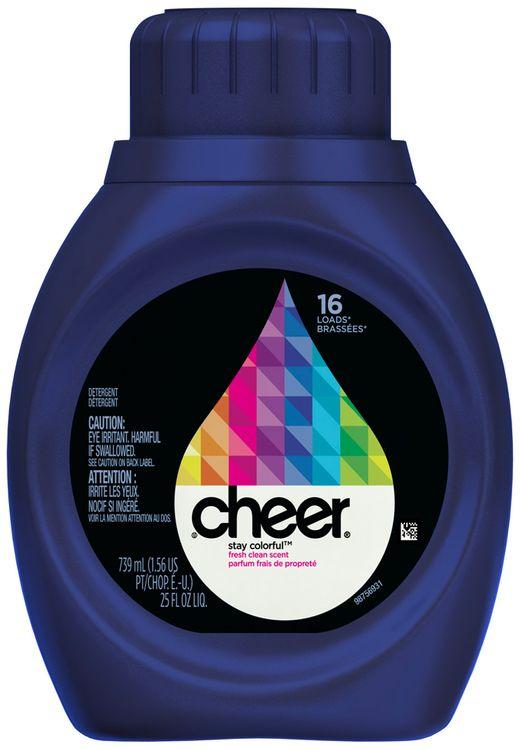Cheer 2X Ultra Fresh Clean Scent Liquid Laundry Detergent