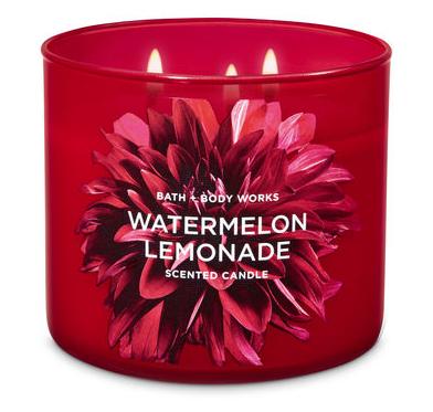 Bath & Body Works® WATERMELON LEMONADE 3-Wick Candle