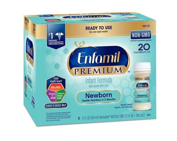 Enfamil™ Premium Newborn Infant Formula Nursettes Bottles