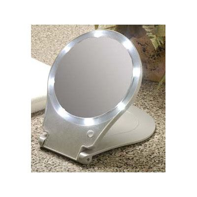 Taylor Gifts Floxite Lighted Travel, Floxite 10x Lighted Travel And Home Mirror
