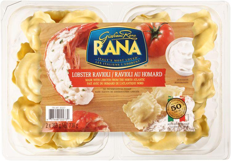 Giovanni Rana Lobster Ravioli 2-369g Packs