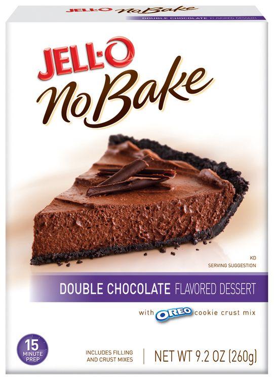 JELL-O No Bake Double Chocolate Dessert Mix