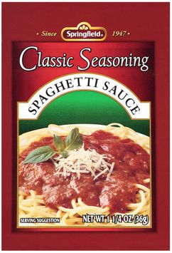 Springfield® Classic Seasoning Spaghetti Sauce