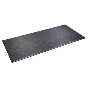 Supermats Tread Mat Color: Black, Size: 72