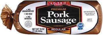 Stater bros Pork Regular Sausage
