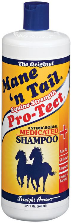 Mane 'n Tail Antimicrobial Equine Strength Pro-Tect Medicated Shampoo