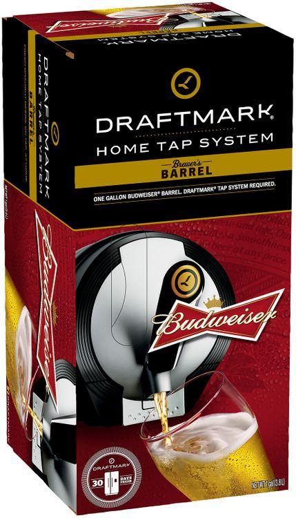 Budweiser Draftmark Refill Beer Box