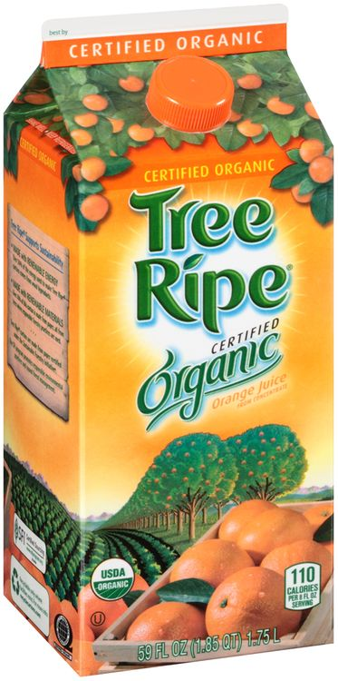 Tree Ripe® Certified Organic Orange Juice
