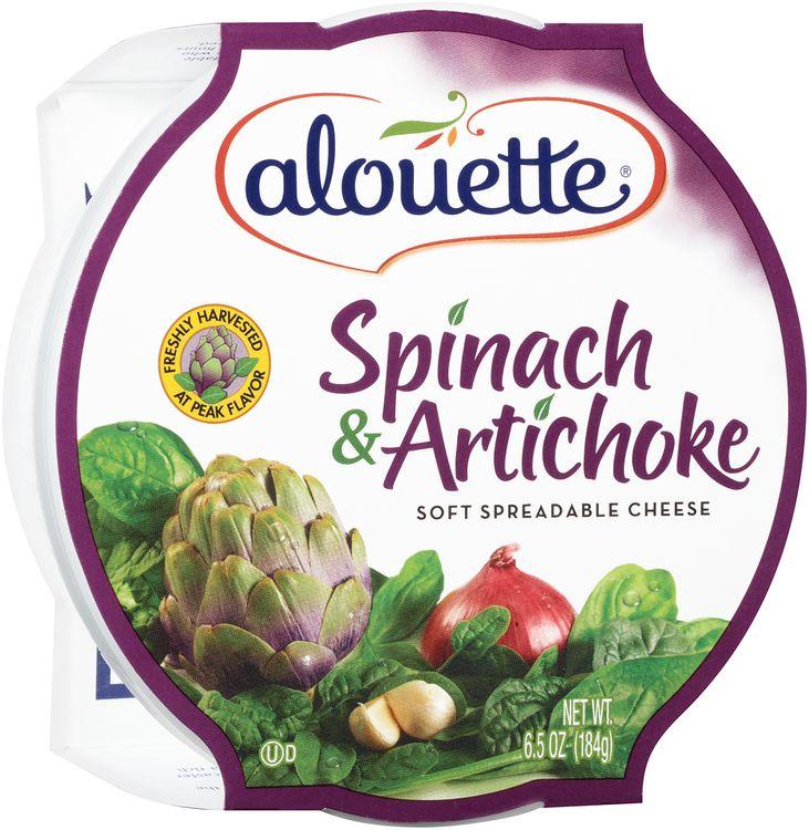 Alouette® Spinach & Artichoke Soft Spreadable Cheese