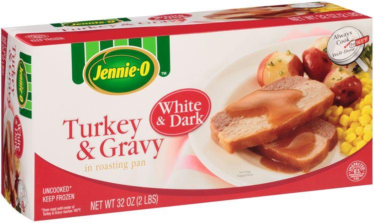 Jennie-O® White & Dark Turkey & Gravy in Roasting Pan
