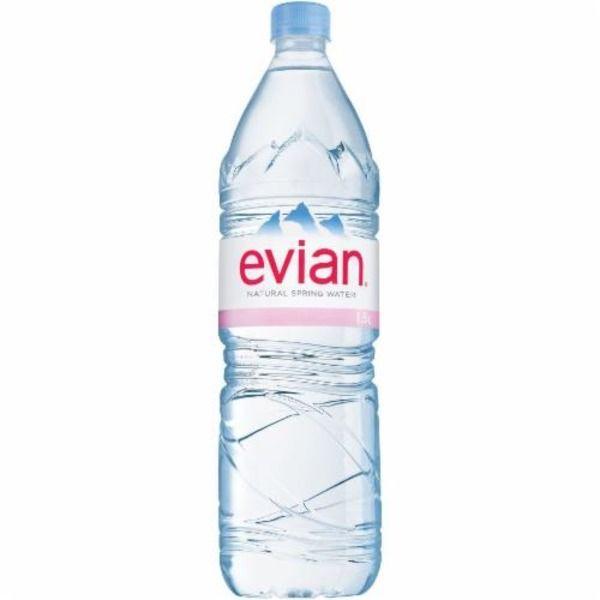 evian® Natural Spring Water