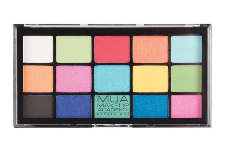 MUA Professional 15 Shade Eyeshadow Palette Colour Burst