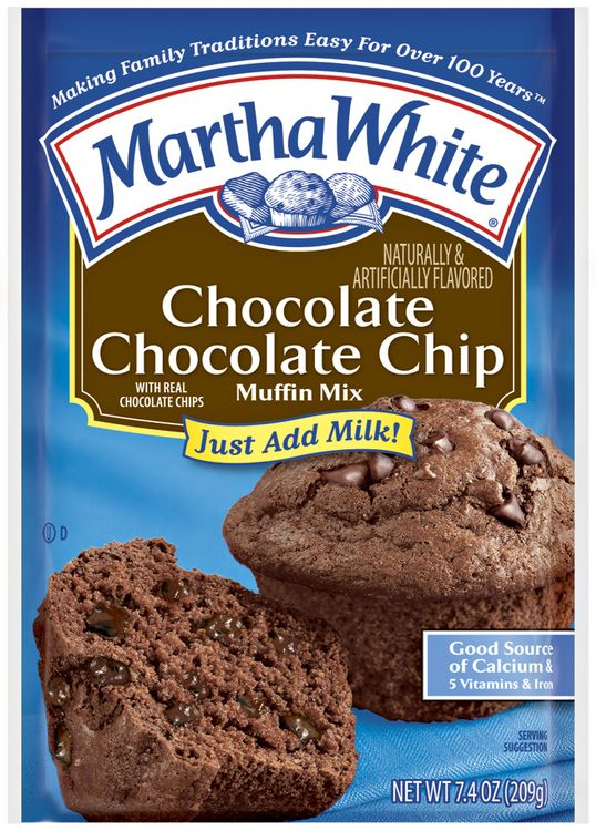 Martha White Chocolate Chocolate Chip Muffin Mix