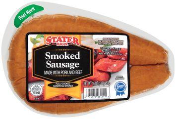 Stater bros Smoked Sausage
