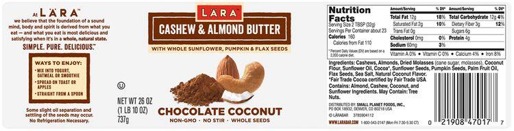 LARABAR® Chocolate Coconut Cashew & Almond Butter Variety Pack