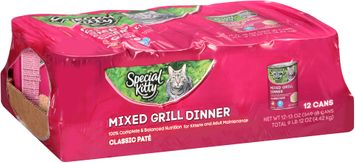 Special Kitty™ Mixed Grill Dinner Wet Cat Food