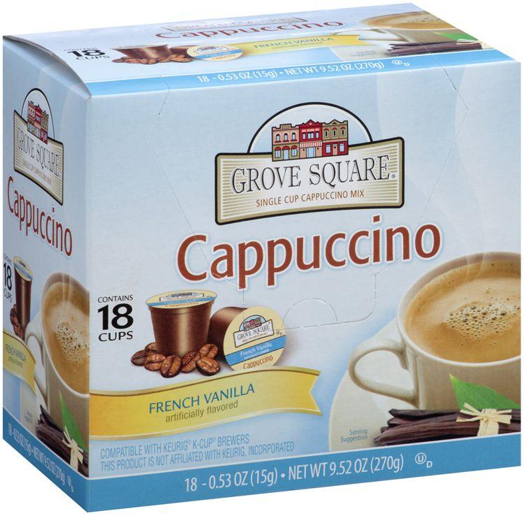 Grove Square™ French Vanilla Cappuccino 18 ct K-cups®