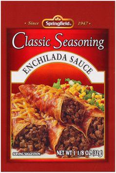 Springfield® Enchilada Sauce Classic Seasoning