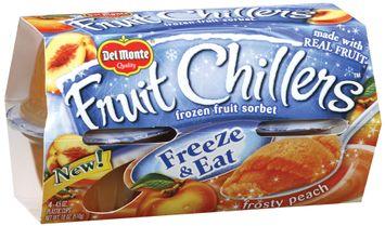 Fruit Chillers™ Frosty Peach Frozen Fruit Sorbet