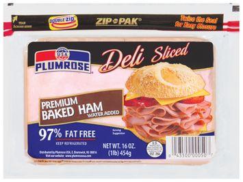 Plumrose Premium Baked Deli Sliced Ham