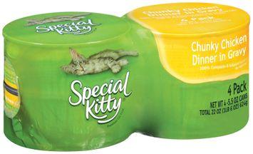 Special Kitty® Chunky Chicken Dinner in Gravy Cat Food