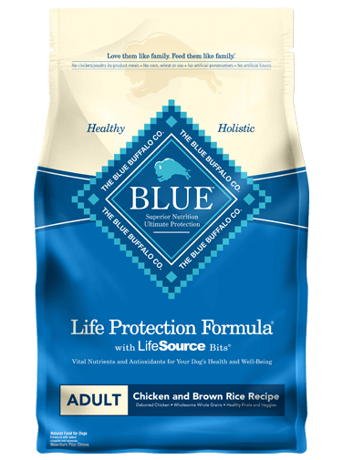 THE BLUE BUFFALO CO. BLUE™ Life Protection Formula® Chicken and Brown Rice Recipe For Adult Dogs
