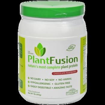 PlantFusion Complete Plant Protein Powder - Chocolate Raspberry